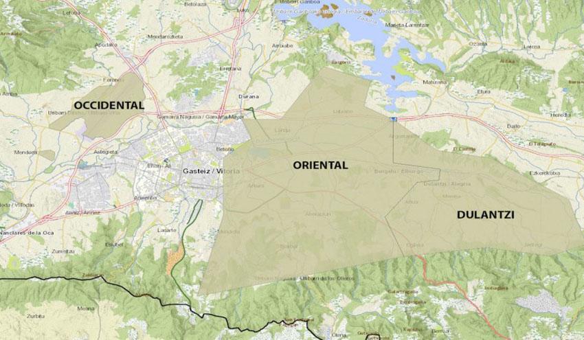 Continúa el descenso de concentraciones de nitratos en las Zonas Vulnerables de Vitoria
