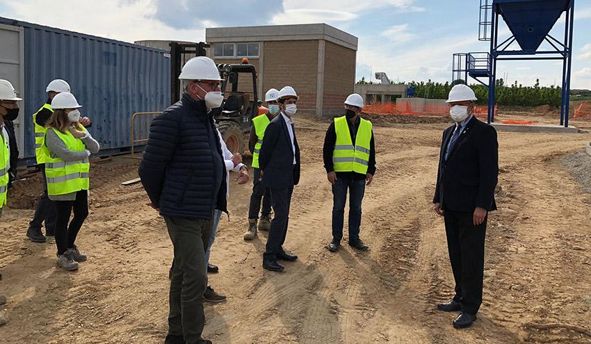 Tres nuevas depuradoras mejorarán el saneamiento de varios municipios del Segrià