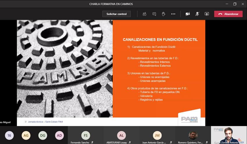 """""""Sistemas de canalización de fundición dúctil"""", charla en la Universidad de Granada de la mano de Saint-Gobain PAM"""