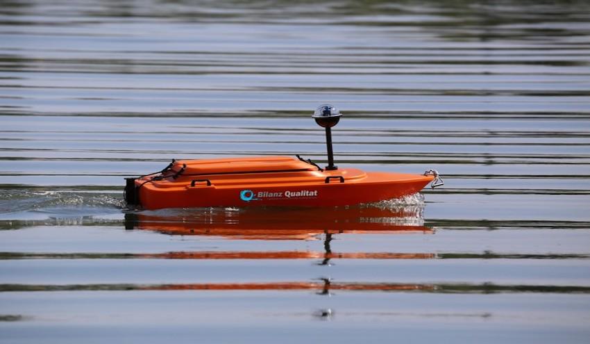 Drones acuáticos para la medición de la calidad del agua