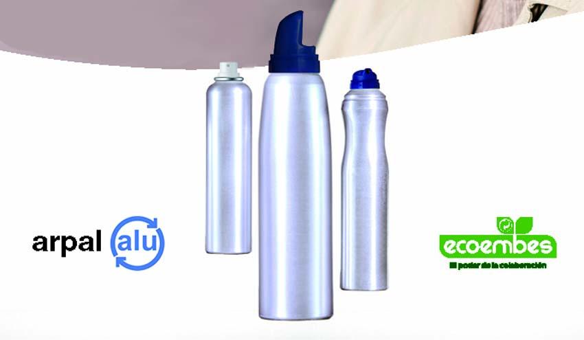 Los salones de peluquería se suman al reciclado de envases