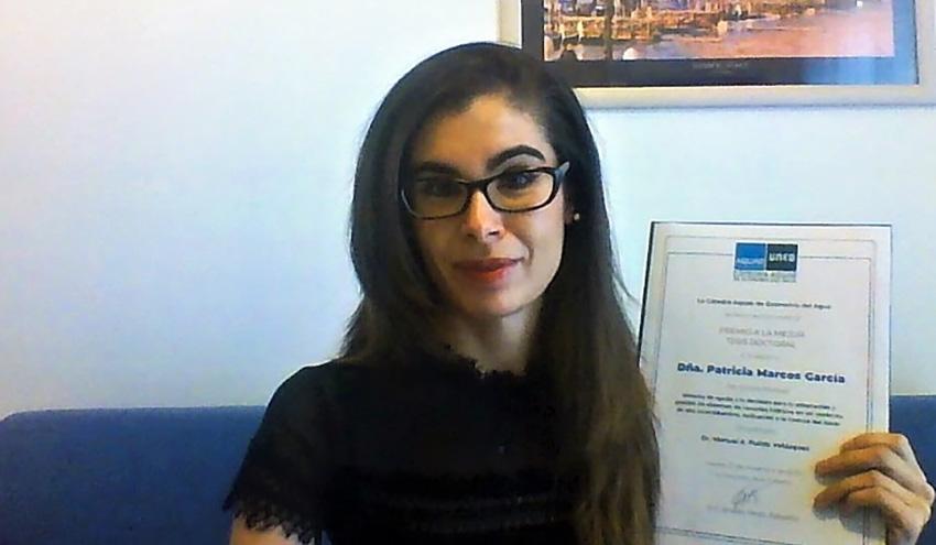 Una investigación del IIAMA, primer premio de la Cátedra Aquae de Economía del Agua