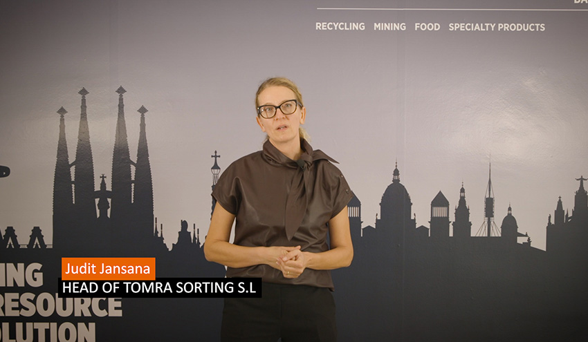 TOMRA Sorting Recycling presenta por primera vez de forma virtual en España sus nuevas soluciones de clasificación