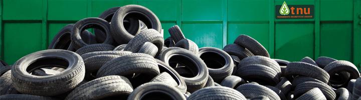 TNU incrementa un 11,7% los neumáticos usados recogidos en 2014, alcanzando las 54.774 toneladas