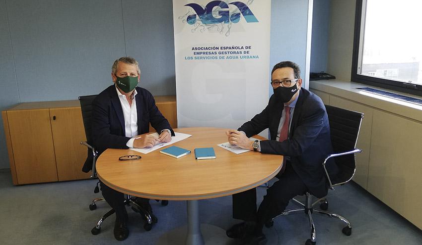 AGA y eisp colaborarán en la formación y posicionamiento del sector del agua urbana