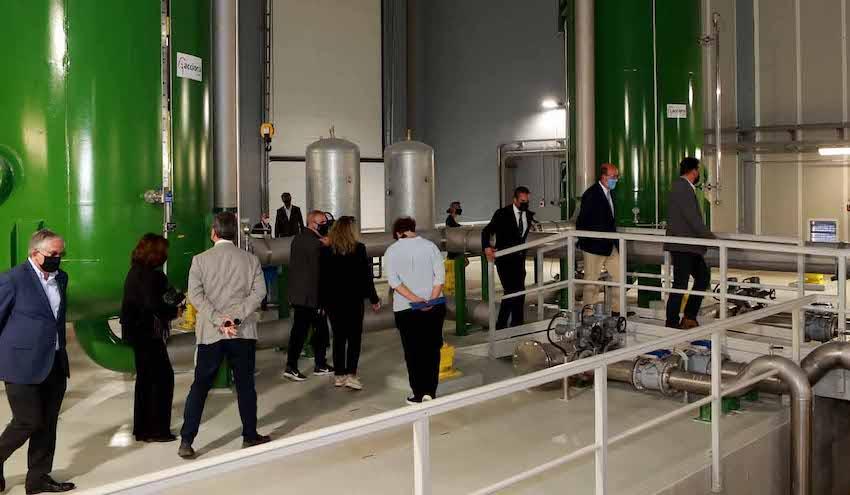 ACCIONA completa la ampliación de la potabilizadora de Alcantarilha en Portugal