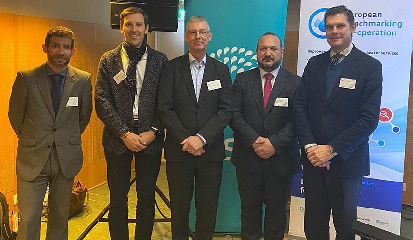 El Servicio de Aguas de Badajoz alcanza la máxima puntuación en el European Benchmarking Co-operation