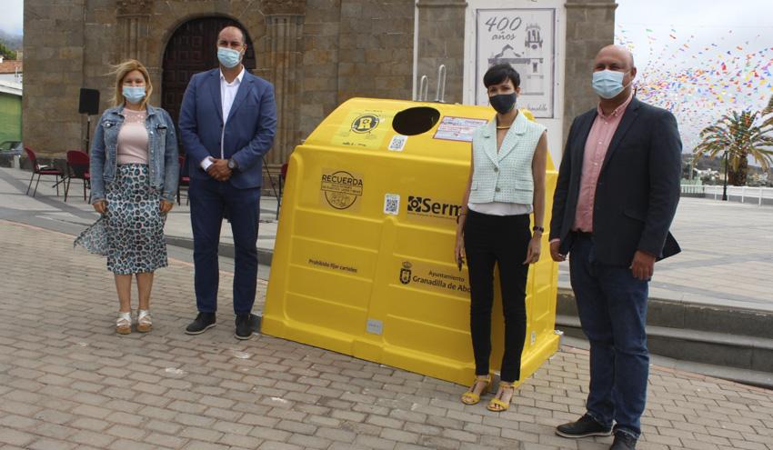 Granadilla de Abona, primer municipio canario que cuenta con el sistema de reciclaje RECICLOS