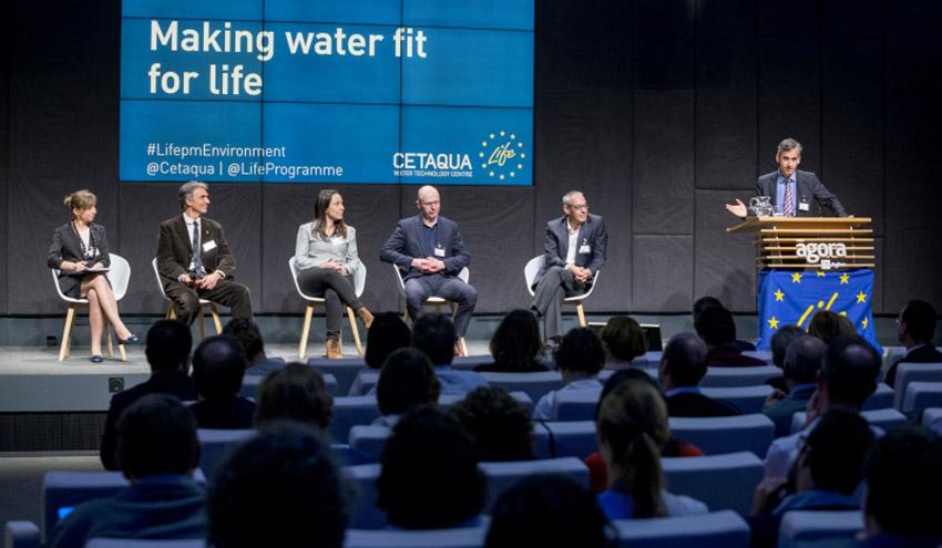 Expertos internacionales debaten en Barcelona sobre futuras legislaciones en materia de aguas residuales