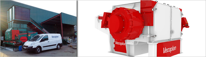 Vecoplan instala una línea de trituración de nueva generación en una de las plantas más importantes del norte de España