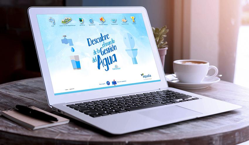 Niños en casa, una oportunidad para aprender sobre el valor del agua con esta iniciativa de Aqualia
