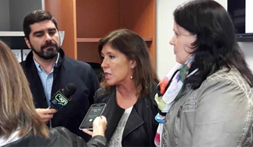 Beatriz Mato destaca el papel de la EDAR de Gandarío para garantizar la calidad del agua de la ría de Betanzos