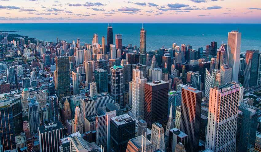 Solución para aguas residuales con decantadores en Chicago