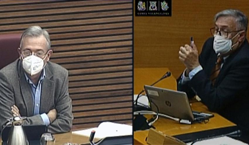 Investigadores del IIAMA enumeran actuaciones contra las inundaciones en la Vega Baja en las Cortes Valencianas