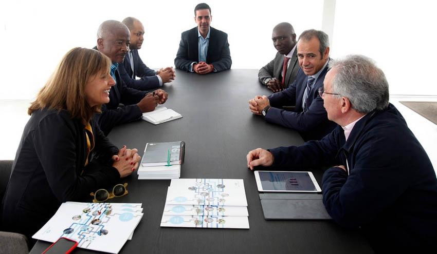 La empresa angoleña Aguas de Malanje conoce Global Omnium y sus desarrollos tecnológicos