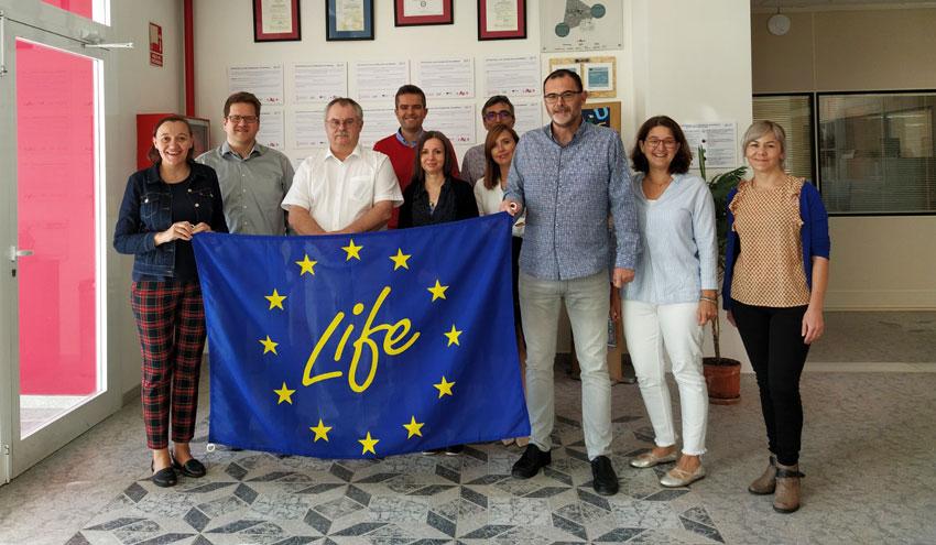 Un proyecto europeo estudiará el desarrollo de materiales de construcción no cocidos basados en residuos