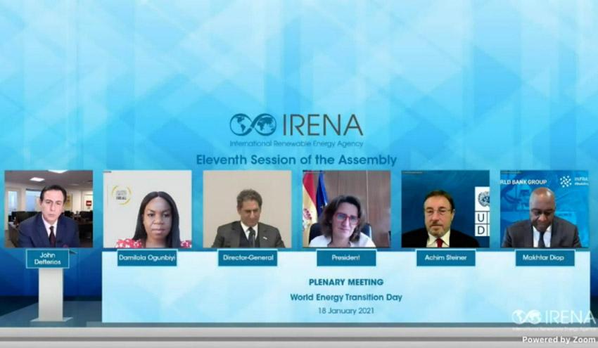 XI Asamblea de la Agencia Internacional de las Energías Renovables