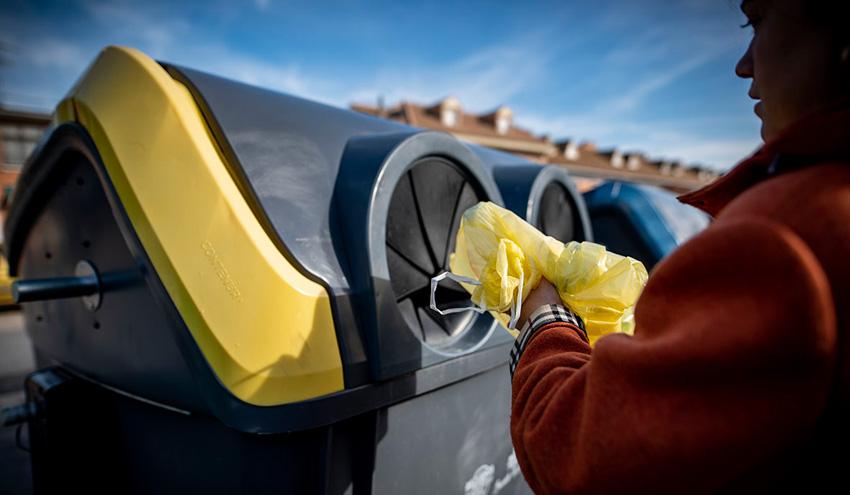 Así reciclamos en 2018: el reciclaje en el contenedor amarillo y azul se dispara un 12%