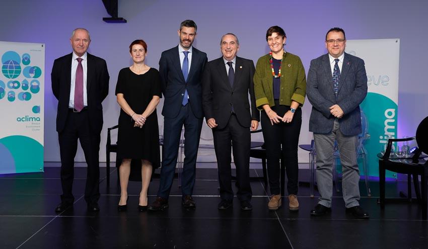 Aclima quiere situar al sector medioambiental como palanca para impulsar la competitividad de la industria vasca