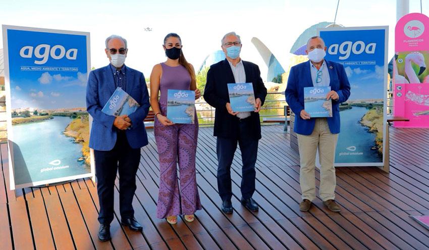 La Fundación Aguas de València presenta aGOa, su nueva revista de divulgación científica