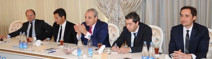 Suez Environnement acuerda transferir conocimientos en materia de agua con el operador público de agua de Azerbaiyán