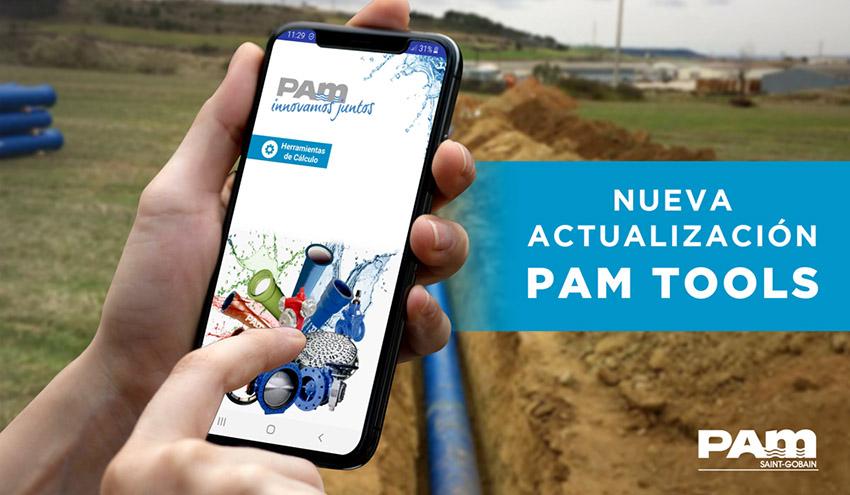 Saint-Gobain PAM lanza una actualización de su app PAM Tools