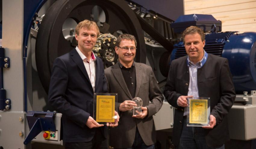 Lindner-Recyclingtech, premiada de nuevo en CemFuels por su tecnología de trituración