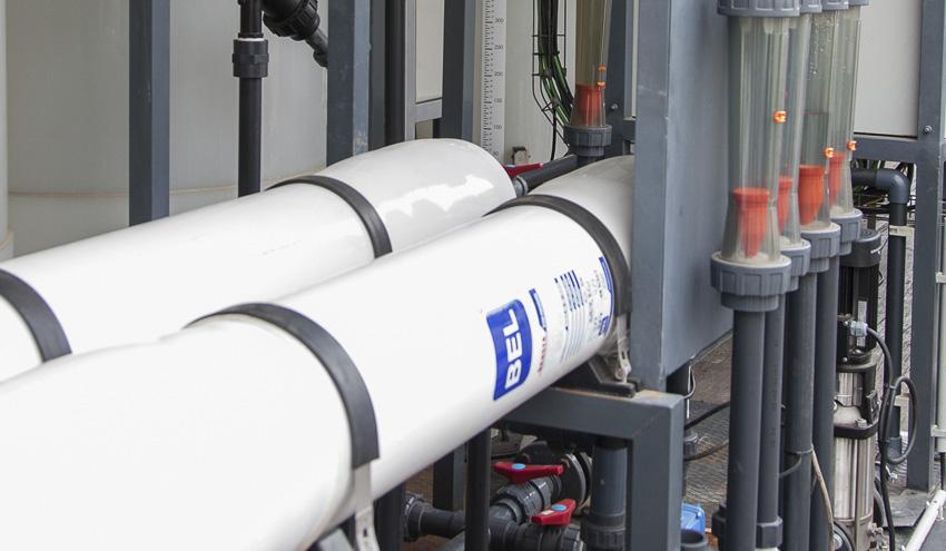 Las desaladoras de Alicante mejoran su eficiencia gracias a las últimas innovaciones de Sacyr Agua