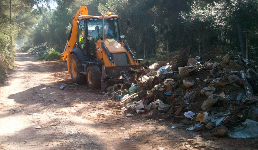 Desmantelado el vertedero de Son Olivaret en Palma de Mallorca