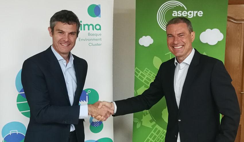 ASEGRE y Aclima colaborarán juntos para impulsar la economía circular