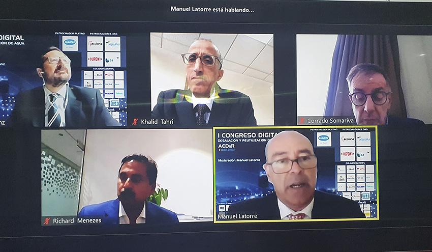 Innovaciones e I+D en desalación y reutilización de agua, a debate el día 26 mayo en el I Congreso Digital AEDyR