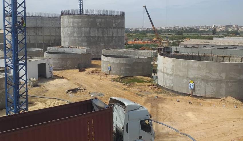 Incatema continúa a buen ritmo con el montaje de la EDAR Cambérène