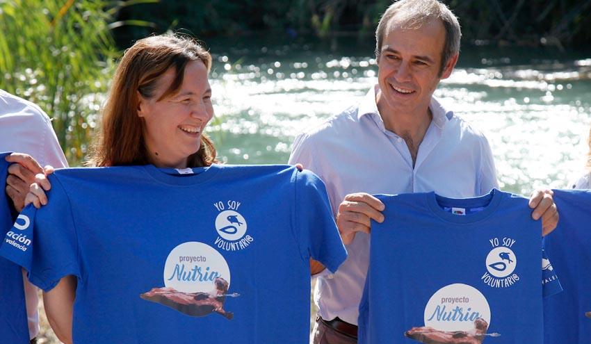Recuperación histórica de la nutria en los ríos de la Comunitat Valenciana