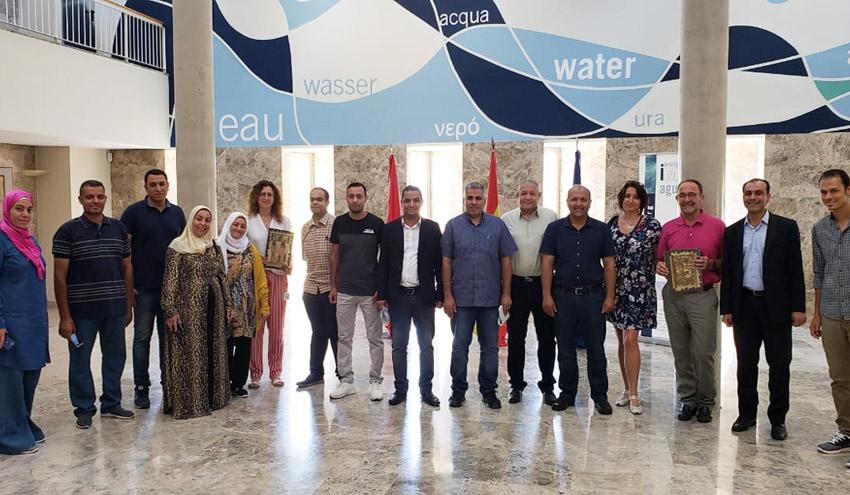 Expertos del Gobierno de Egipto visitan las instalaciones de IMDEA Agua