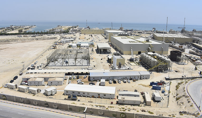 ACCIONA produce el primer metro cúbico de agua en la desalinizadora Al-Khobar 1
