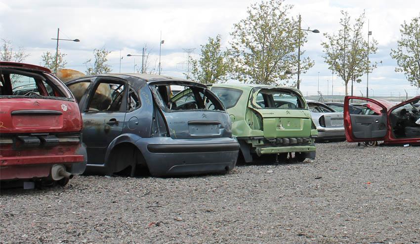 La recuperación de vehículos fuera de uso en España alcanza el 93,5%