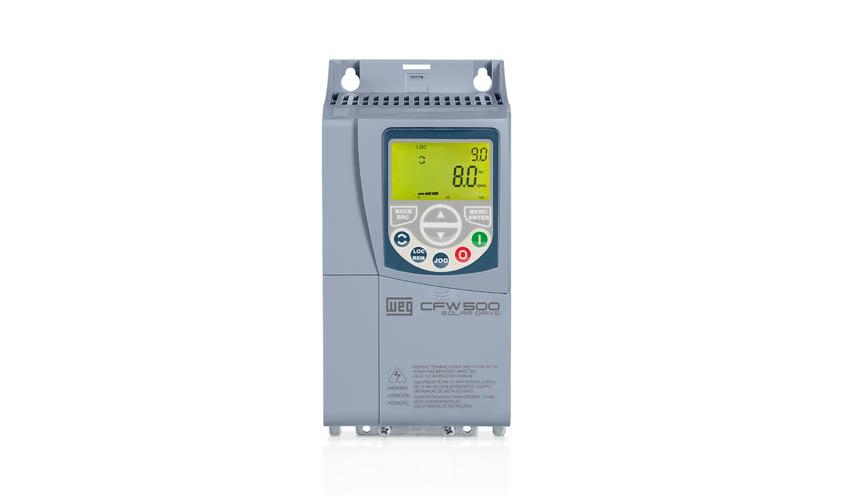 WEG amplía su serie de variadores de velocidad CFW500 para aplicaciones fotovoltaicas
