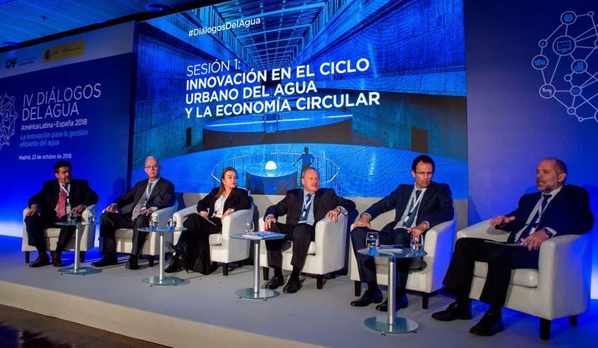 Global Omnium expone en los IV Diálogos del Agua su apuesta por la innovación tecnológica