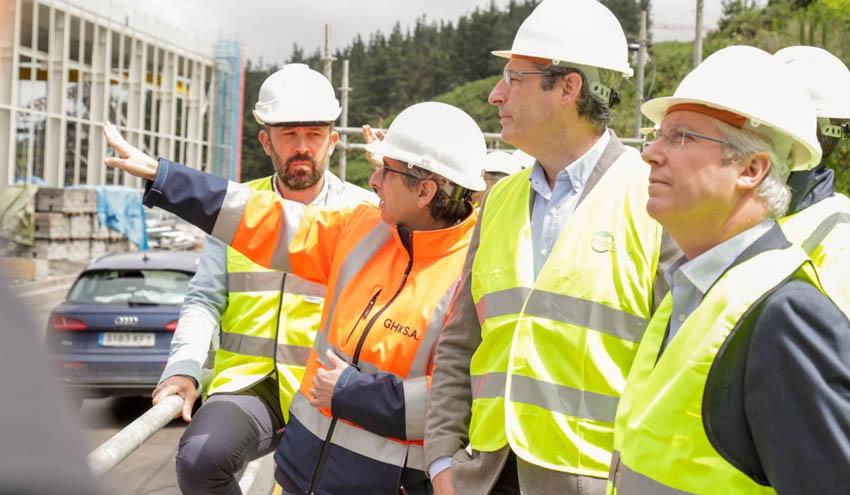 El Complejo Medioambiental de Gipuzkoa encara su fase final de construcción