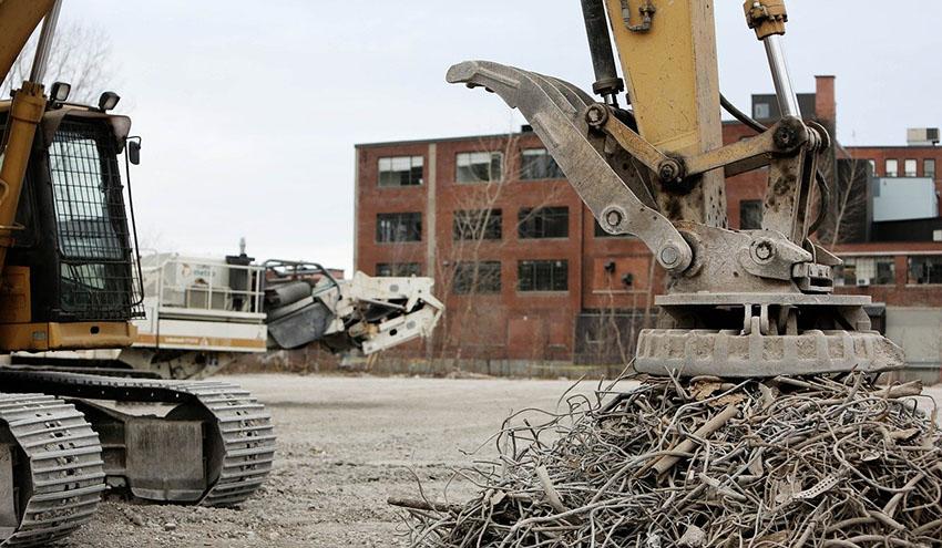 Lenta recuperación de la actividad de las plantas gestoras de residuos de construcción y demolición