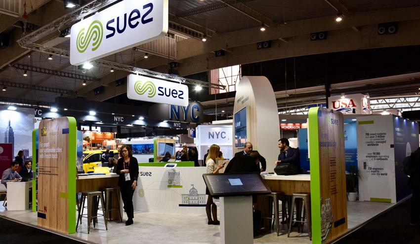SUEZ expone sus proyectos en economía circular y en colaboración público-privada en el SCEWC