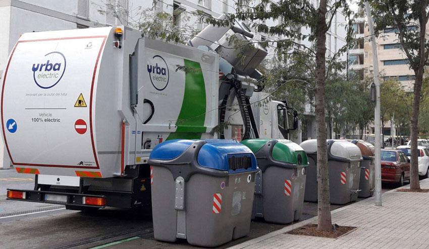 Urbaser presenta el primer camión 100% eléctrico de gran tonelaje para la recogida de residuos