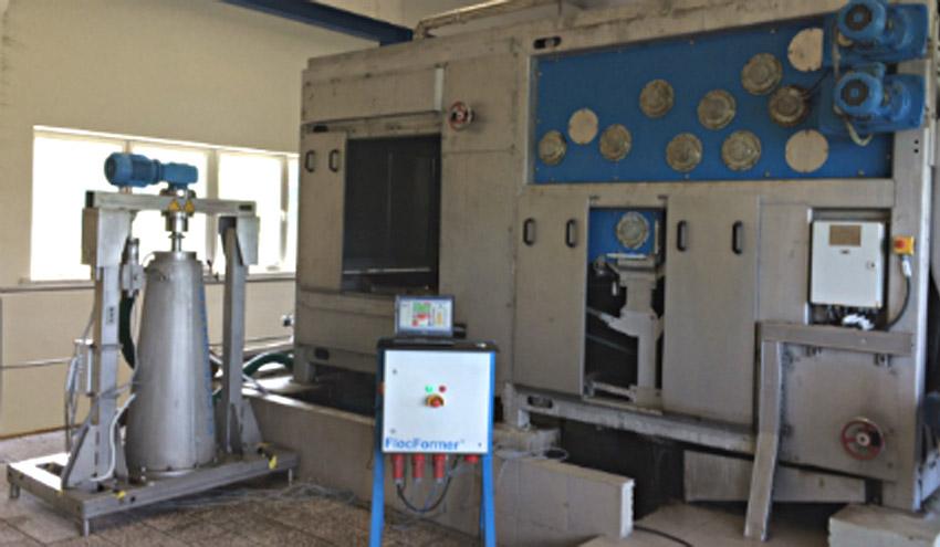 SUEZ Polonia instala una planta piloto de FlocFormer para el secado de lodos