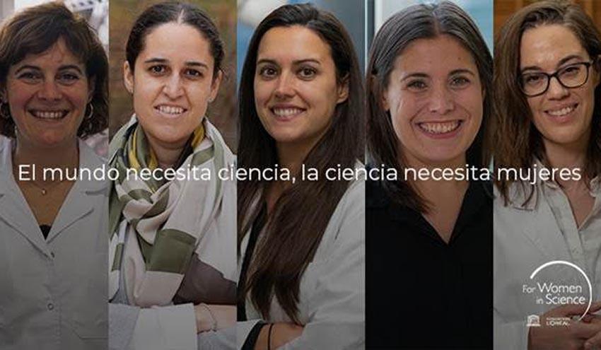 L'Oréal-UNESCO For Women In Science premia a cinco investigaciones españolas realizadas por mujeres