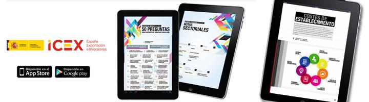 """ICEX presenta su nueva App para dispositivos móviles """"Mercados ICEX"""""""