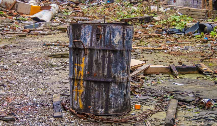Los recicladores denuncian la intención de convertir un hueco minero en un gran vertedero