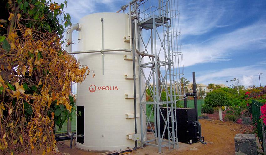 El Gran Hotel Melià Palacio de Isora elige la tecnología Biosep de Veolia para depurar y reutilizar sus aguas