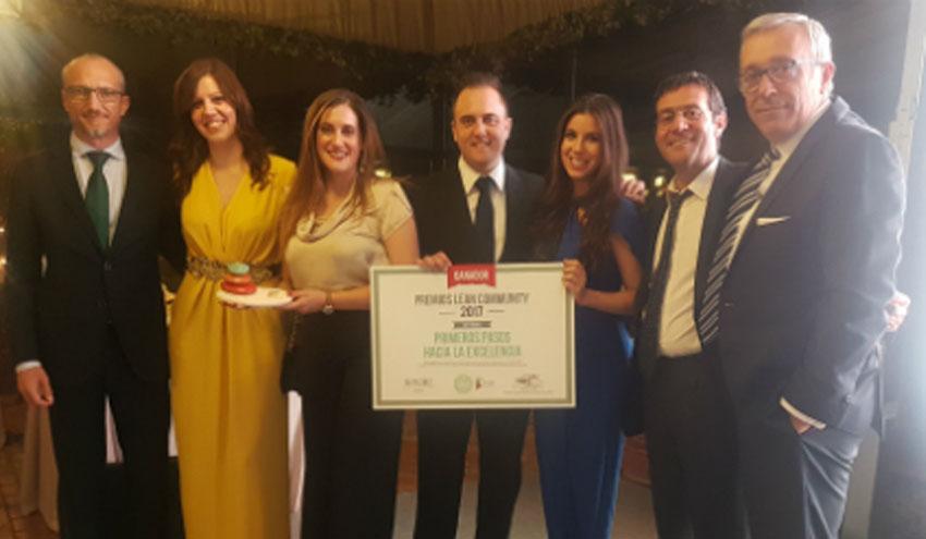 SUEZ Spain recibe un premio por su programa de mejora continua Concerto