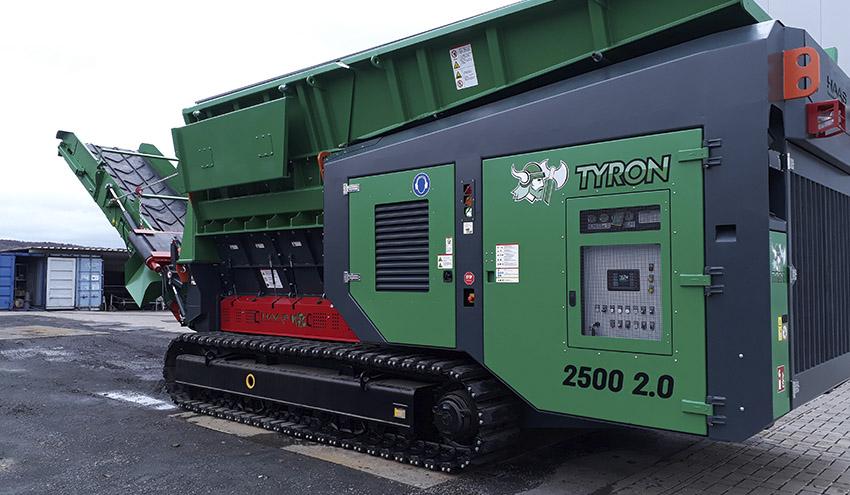 Nueva trituradora HAAS TYRON 2500 Versión 2.0