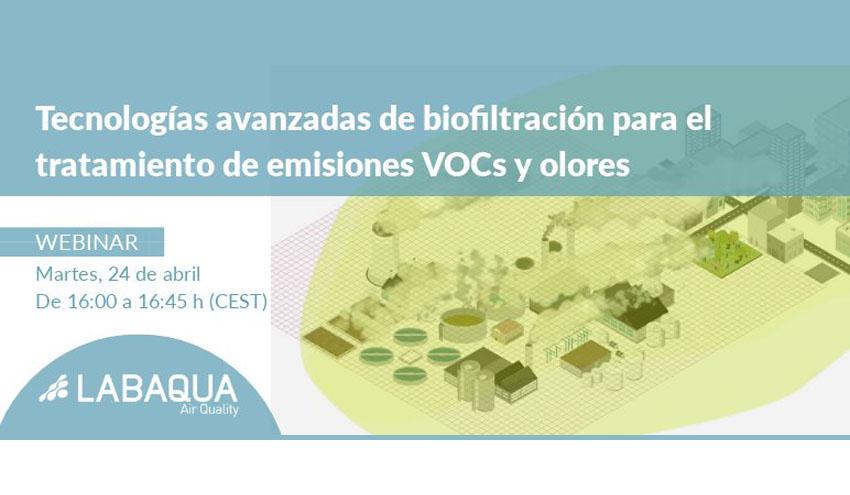 Tecnologías avanzadas de biofiltración para el tratamiento de emisiones VOCs y olores